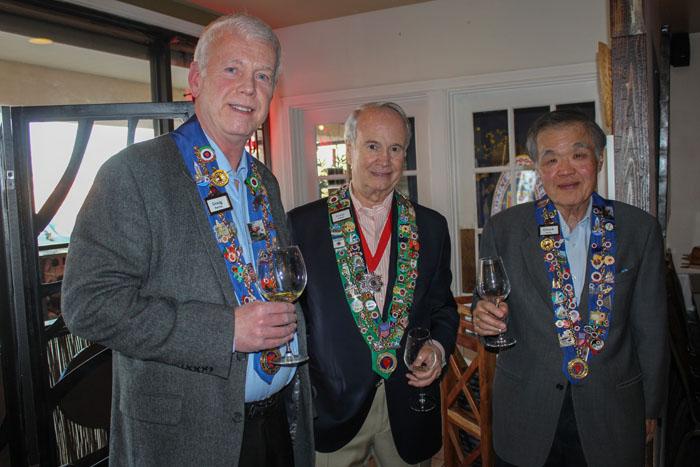 Graig Smith, George Elliott, Chuck Hong