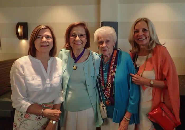 Jeane Elliott, Barbara Weinberg, Marj Valvano, Patricia Myers