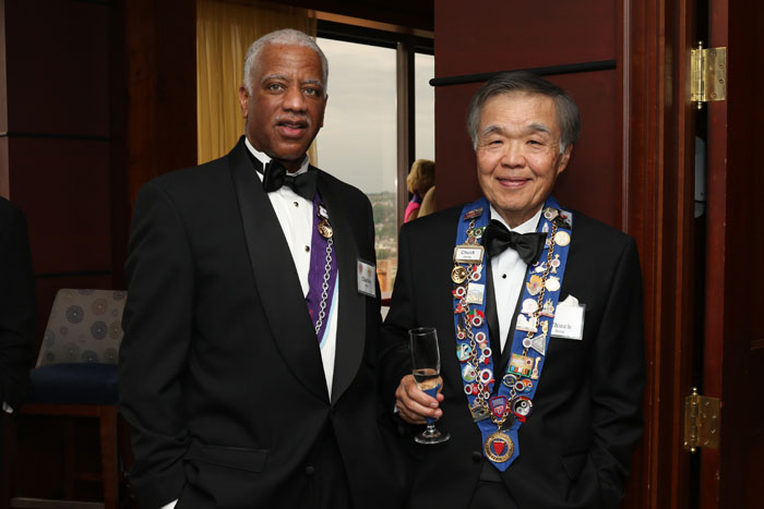 Charles Hall, Chuck Hong