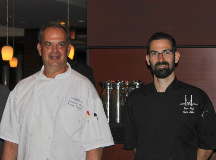 Executive Chef Kelsey Yerger, Sous Chef Ryan Lithe