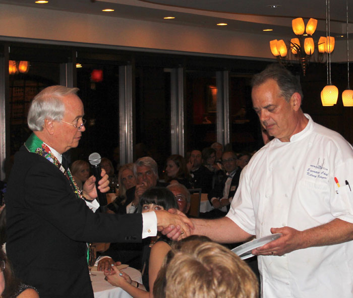 George Elliott, Executive Chef Kelsey Yerger