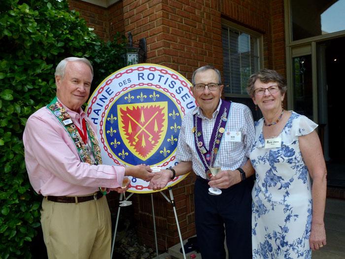 George Elliott, Bill and Mary Jane James