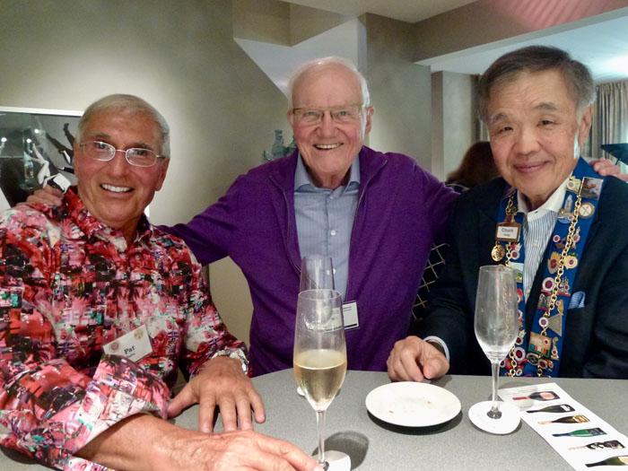 Pat Gaito, Irwin Weinberg, Chuck Hong