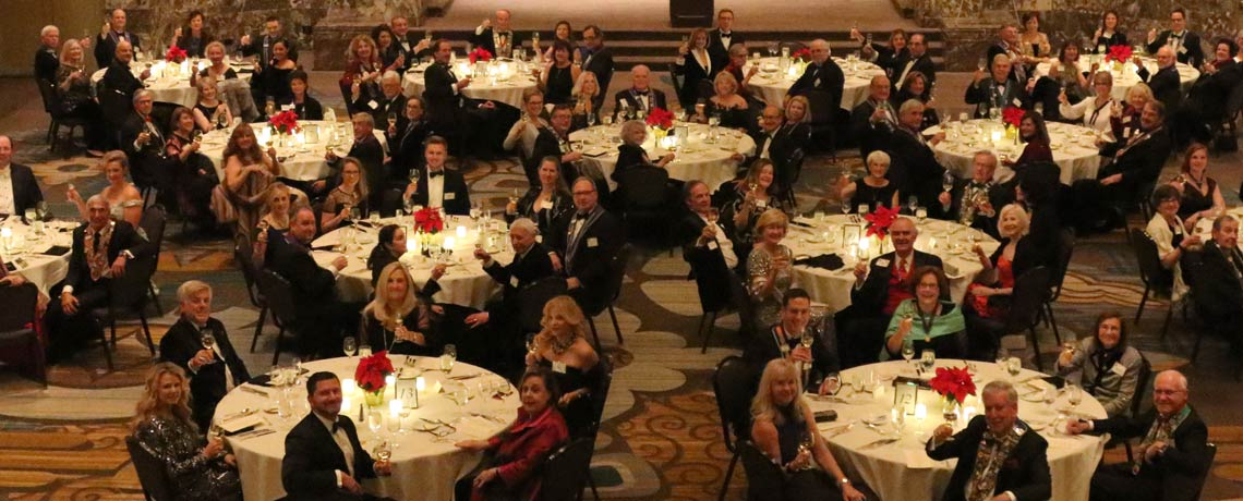 Holiday Dinner at The Hall of Mirrors – December 15, 2019