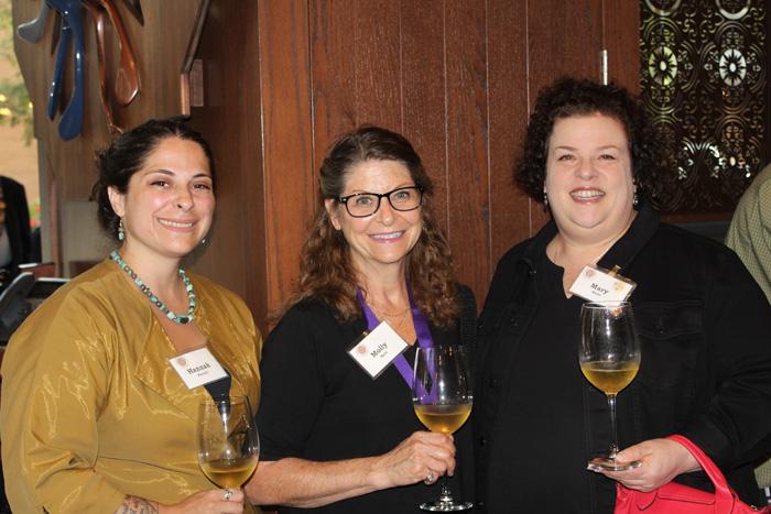 Hannah Parrott, Molly Katz, and Mary Horn