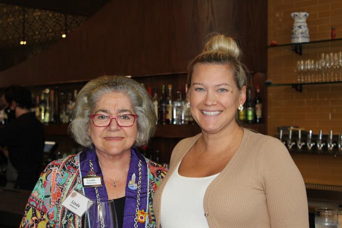 Linda Seikmann and Lane Millett