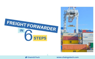 Freight Forwarder in 6 steps