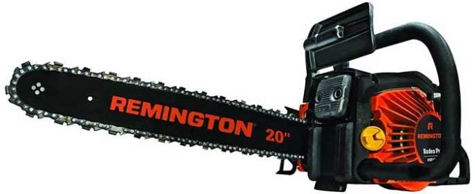 Remington RM5520R Rodeo Pro 55cc 2-Cycle 20-Inch Gas Chainsaw Review