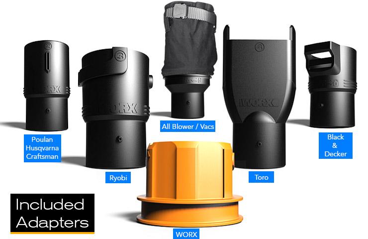 Gas Leaf Blower Vacuum Mulcher