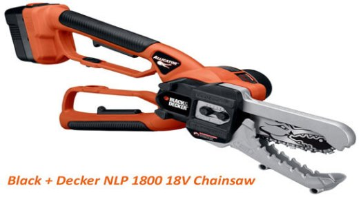 Black Decker NLP1800 Alligator Lopper 18 Volt ChainSaw