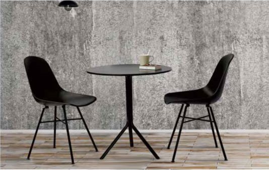 metal table design trio