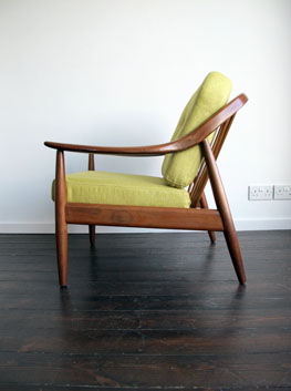 Greaves Amp Thomas Teak Armchair