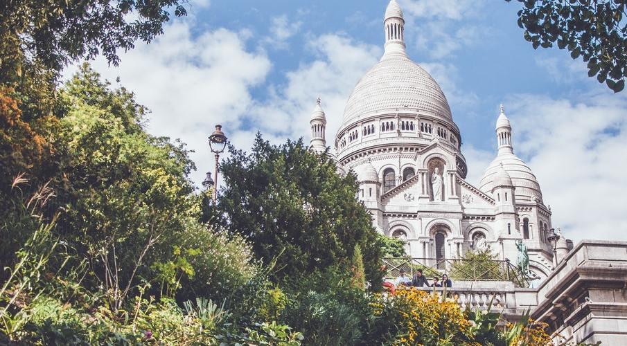 La vue sur le Sacré Coeur, Clos Montmartre
