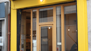 Devanture restaurant Pastore
