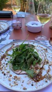 salade de cèpes de l'automne