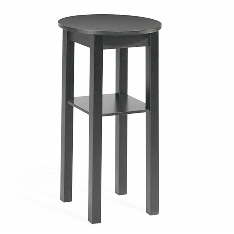 table haute ronde en bois ht 90 ou 110 cm