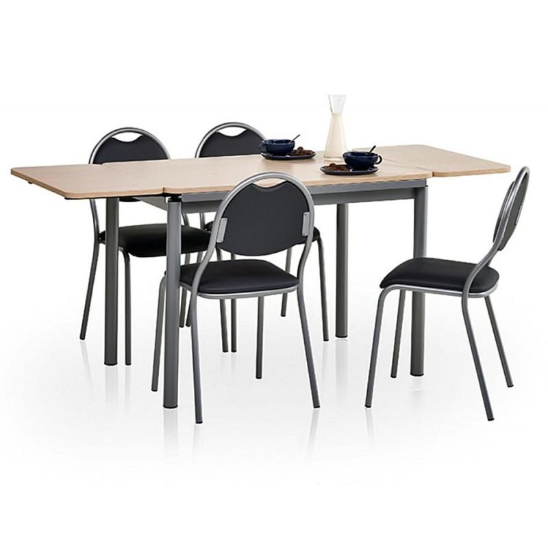 table de cuisine avec rallonges basic