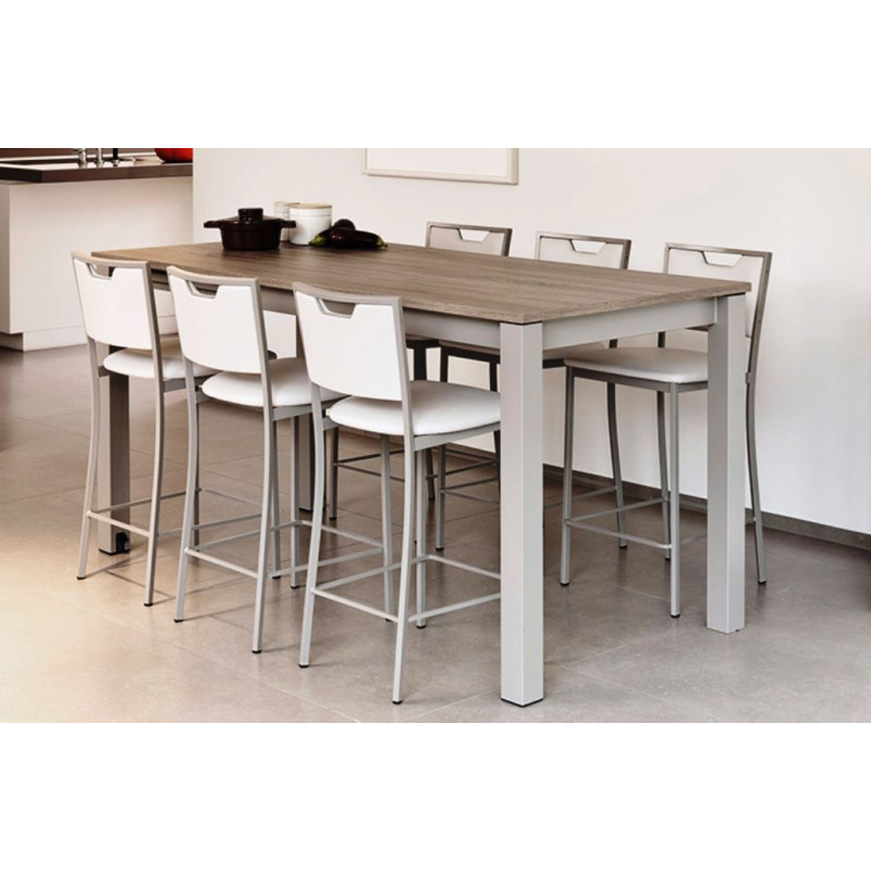 table extensible snack valencia ht 90 cm