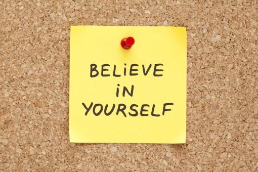 Sticky Believe In Yourself