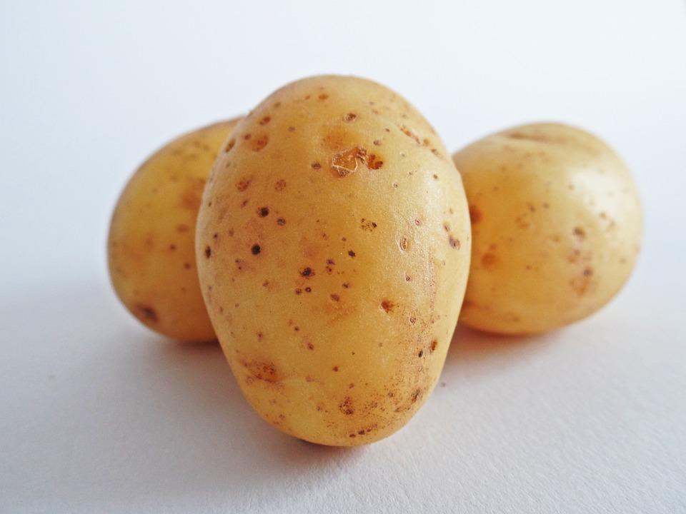 potato, potato paste