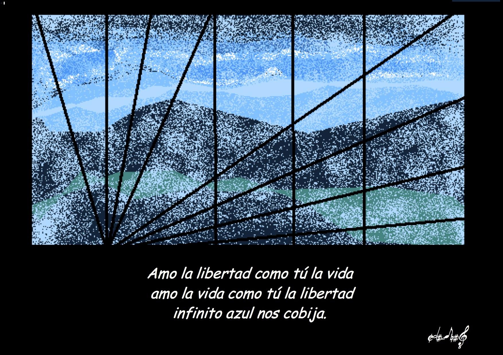 POEMAS_PINTURAS amo la libertad_de_Chalena