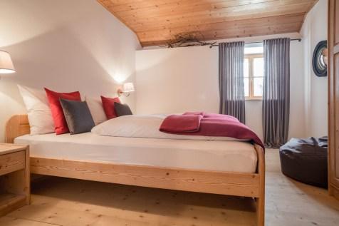 Schlafzimmer Chalet Hafling Leckplått