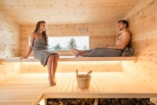 Sauna Zirbenholz