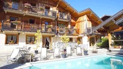 Piscine hotel Chalet Philibert Morzine