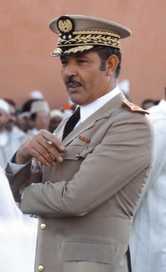 Ahmed Dlimi, a colonel in 1972, supposedly was the mastermind of a plot to have the plane he was riding on with King Hassan II shot down. We couldn't make this up...