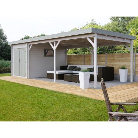 jardin modernes en bois chalet center