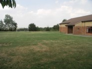 Playing field adjacent to Hall.