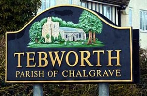 Tebworth Sign