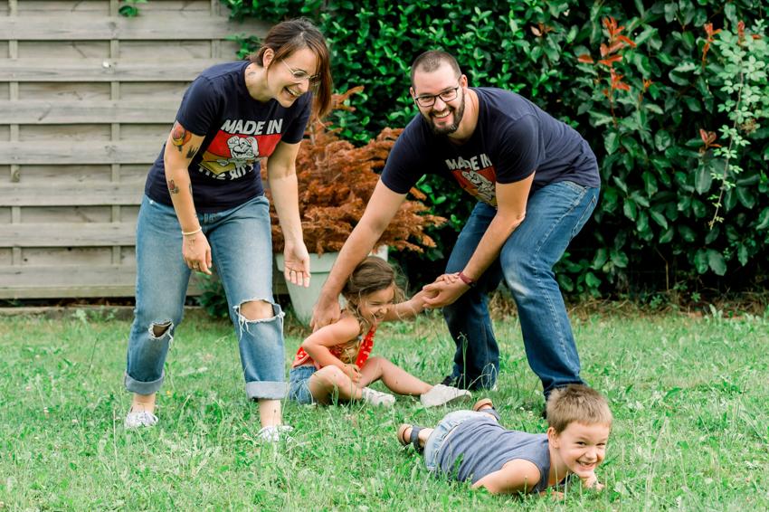 Reportage photo de famille à Pau
