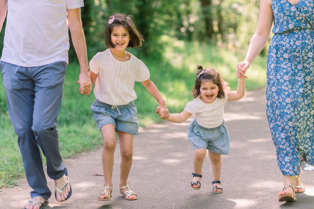 faire des photos de famille en extérieur
