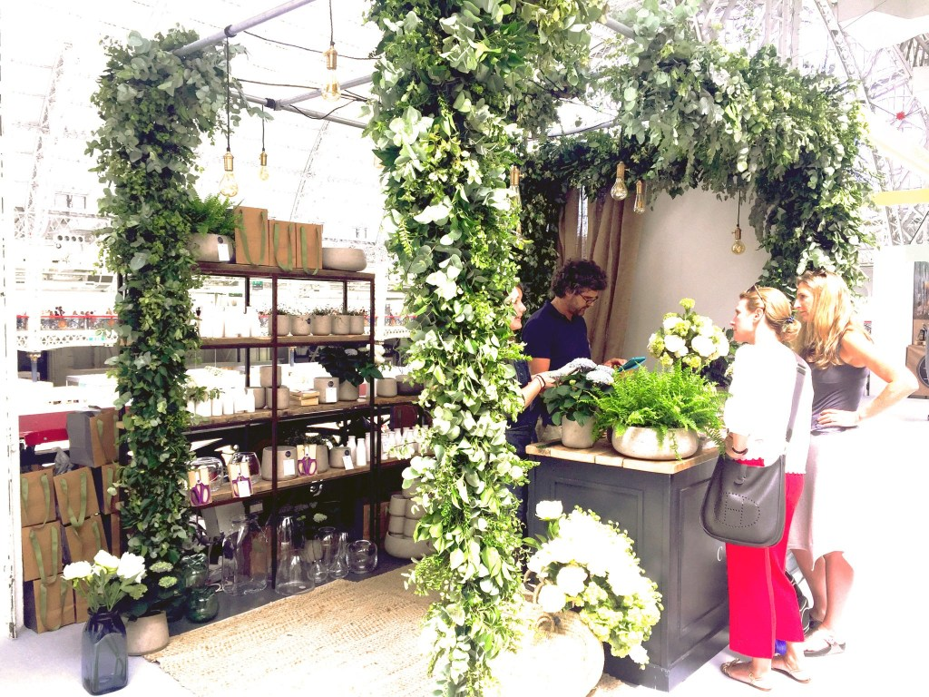 House & Garden fair festival were lucky to have Philippa Craddock, with a beautiful biophilic stand.
