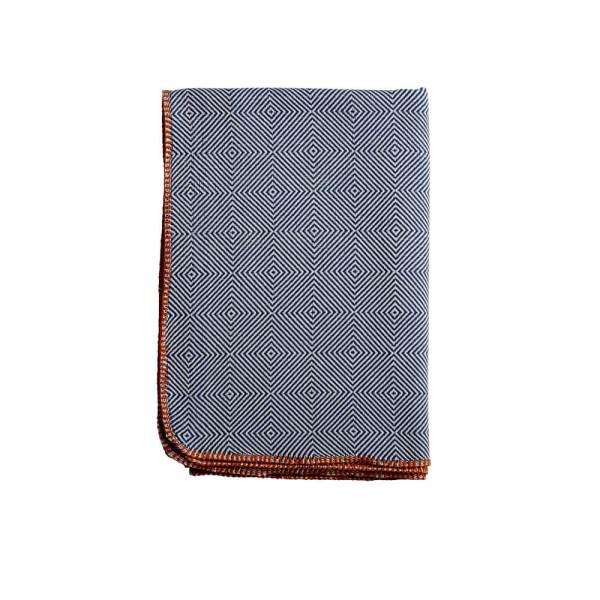 Arkan Luxury Cotton Throws - Royal Blue