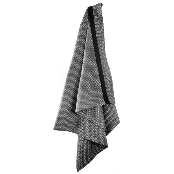Beautiful full length bath sheet in dark grey organic cotton. Other colours available.