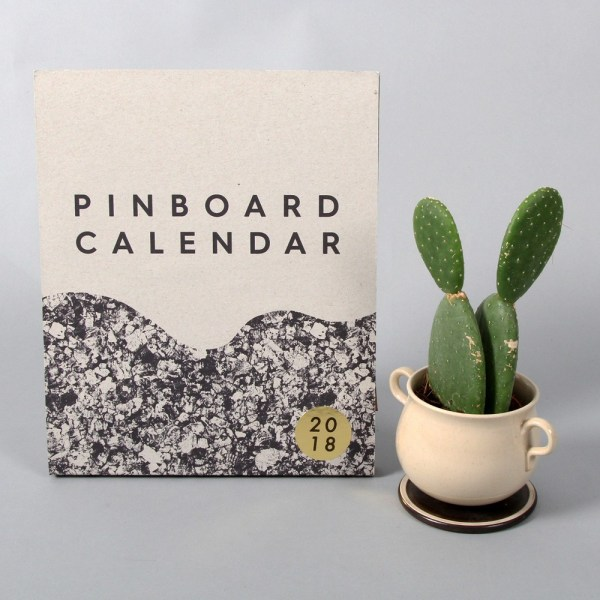 Pinboard year calendar by Wald. Also available in XL.