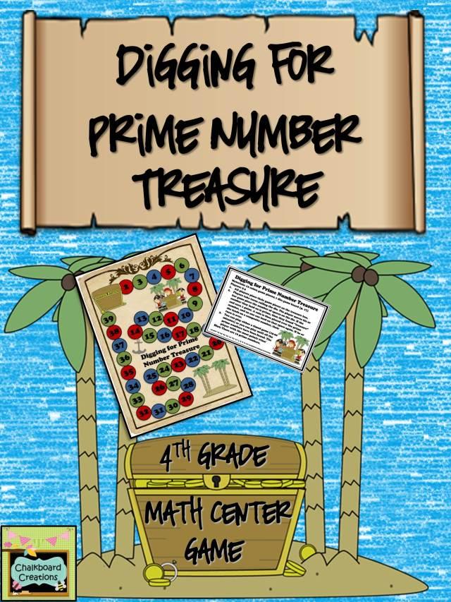 Digging for Prime Number Treasure Center Thumbnail