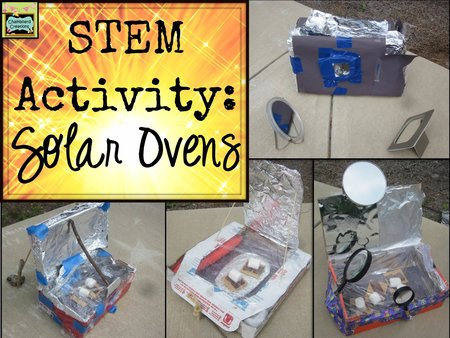 Stem activity designing and building solar ovens for How to build a solar oven for kids