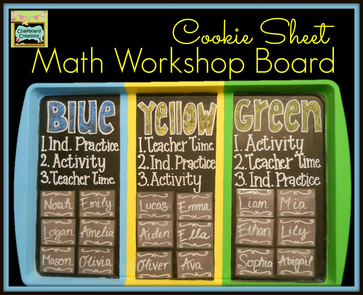 7 Habits of Highly Effective Math Workshops- Week 3: Have a Board