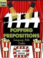 Popping Prepositions: Language Arts Center