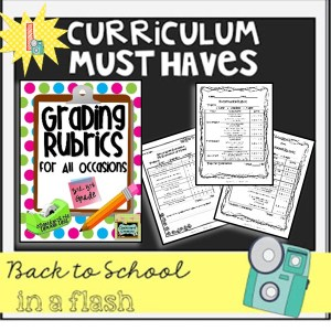 Back to School in a Flash: Grading Rubrics for All Occassions