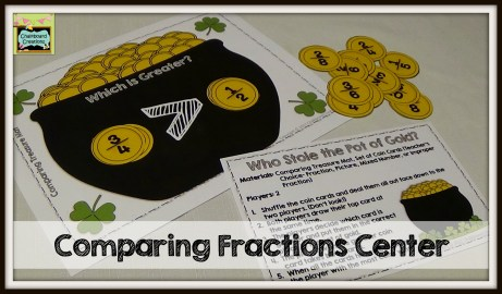 Comparing Fractions St. Patrick's Day