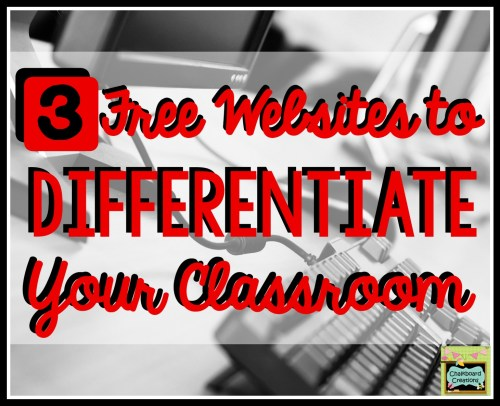 Differentiated Websites