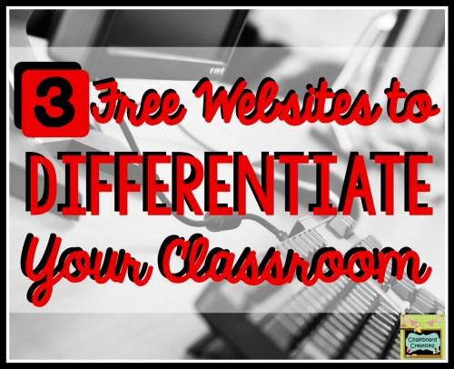 Differentiated Websites
