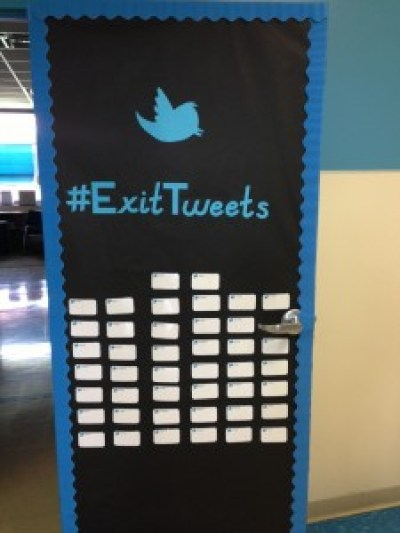 Exit Ticket Tweets