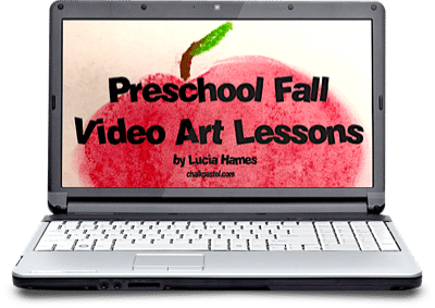 Fall Preschool Video Art Lessons
