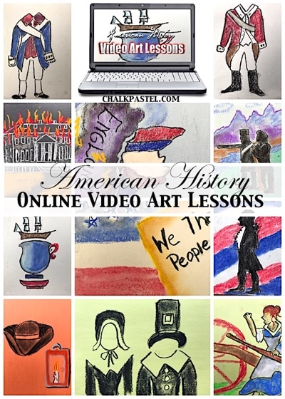 American History Video Art Lessons