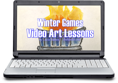 Winter Games Video Art Lessons